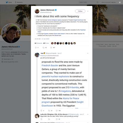 James Hitchcock on Twitter