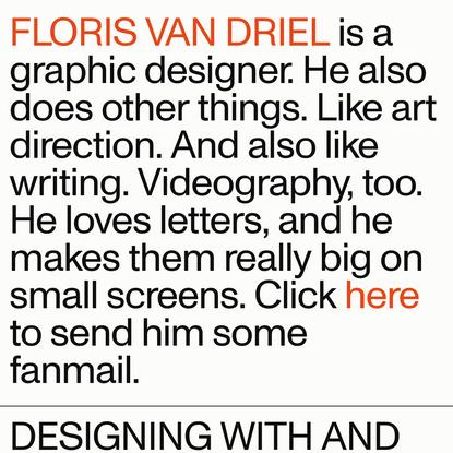 Floris van Driel