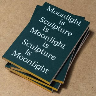 🌜Publication that we designed, printed, foil-blocked, collated, creased, bound, trimmed - for @rcasculpture 🌛 The show is op...