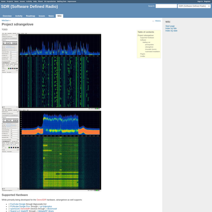 Sdrangelove - SDR (Software Defined Radio) - Open Source Mobile Communications