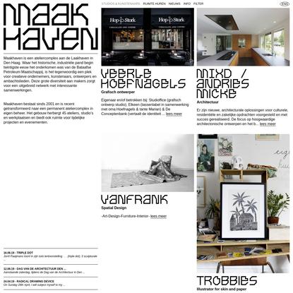 Studios & Kunstenaars   Maakhaven