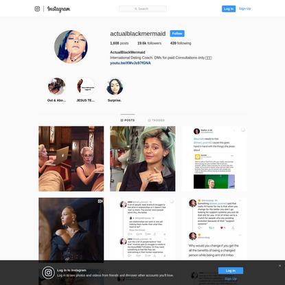 ActualBlackMermaid (@actualblackmermaid) * Instagram photos and videos
