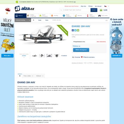 EHANG 184 AAV - Dron   Alza.cz