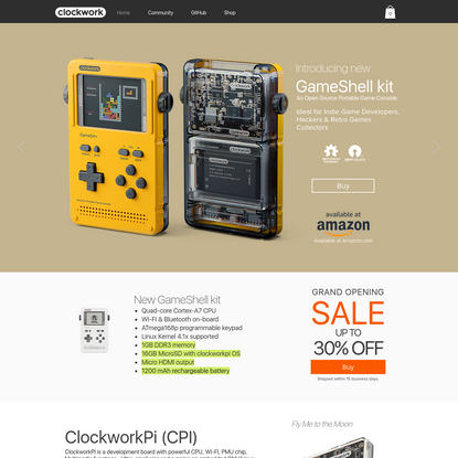 GameShell | ClockworkPi GameShell