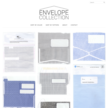 security envelope collection