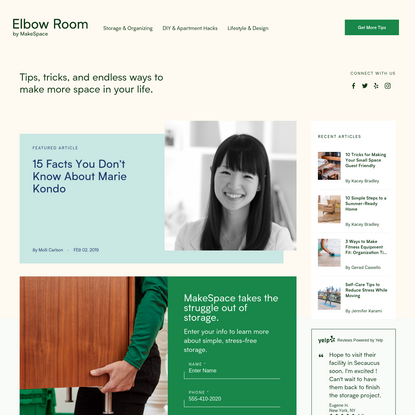 Homepage - Elbow Room