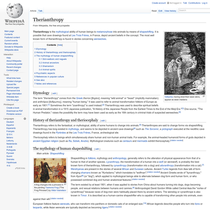 Therianthropy
