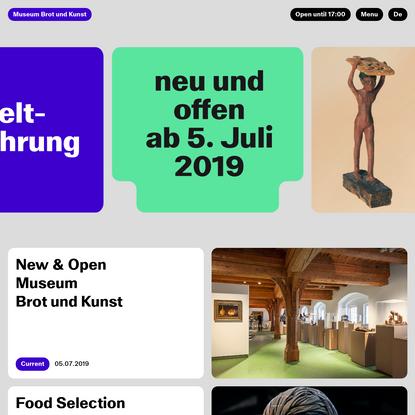 Museum Brot und Kunst
