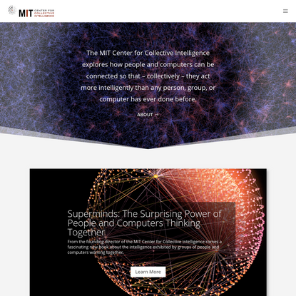 MIT Center for Collective Intelligence |