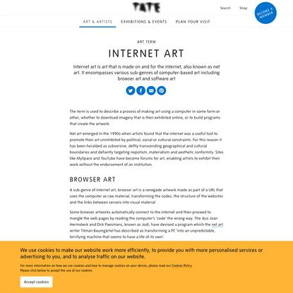 Internet Art - Art Term   Tate