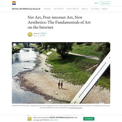 Net Art, Post-internet Art, New Aesthetics: The Fundamentals of Art on the Internet