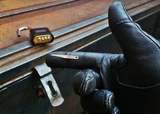 Combination Lock Bypass Tool (Shim)