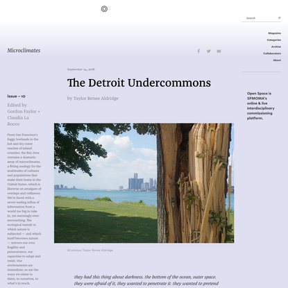 The Detroit Undercommons