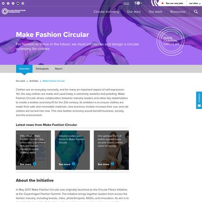 Circular Fibres Initiative