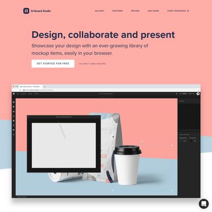 Artboard Studio - Design, collaborate and present