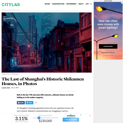 The Last of Shanghai's Historic Shikumen Houses, in Photos