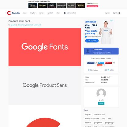 Product Sans Font - Befonts.com
