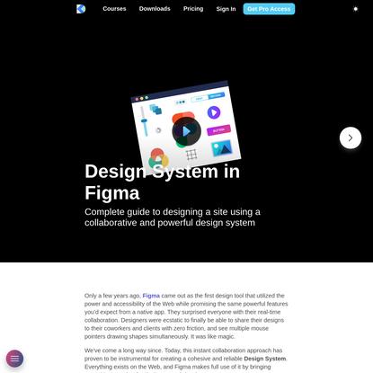 Design System in Figma - Design+Code