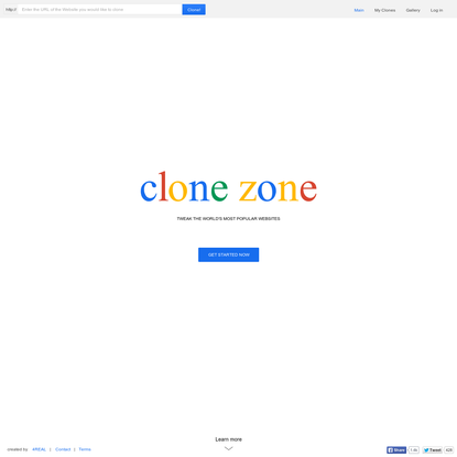 Clone Zone - an online cloning tool
