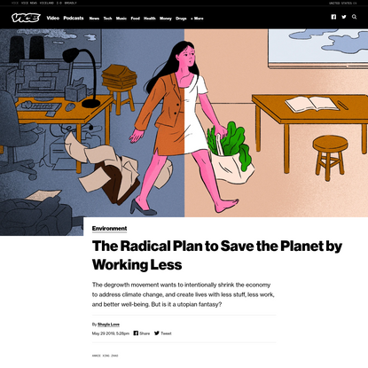 The Radical Plan to Save the Planet by Working Less