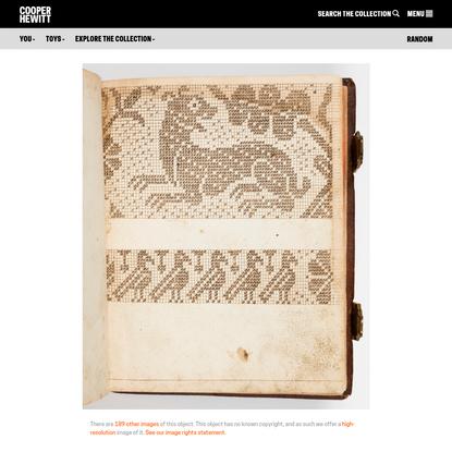 Pattern Book (Germany), 1760