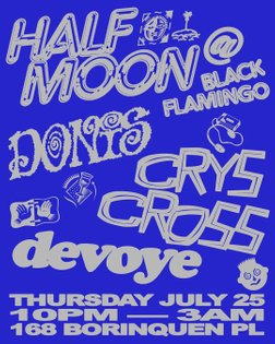 This month we kick off our new residency at @blackflamingonyc July 25th. This residency will be led by Half Moon's very own ...
