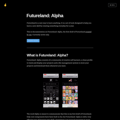 Futureland: Alpha