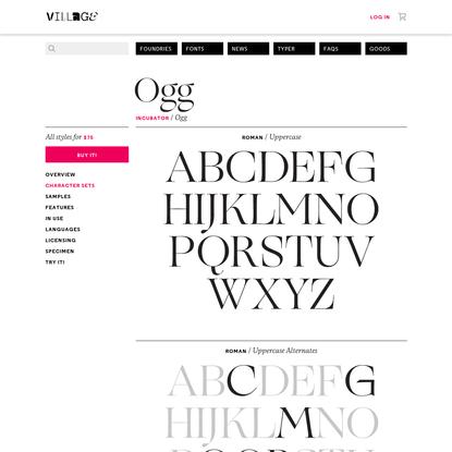 Village: Ogg sets