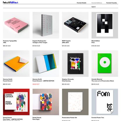 Formist Editions