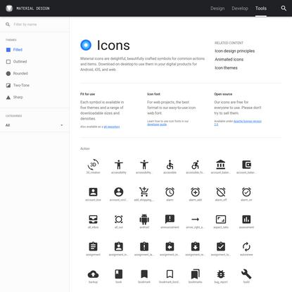 Icons - Material Design