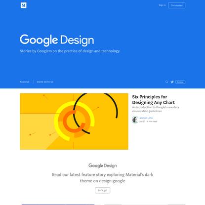 Google Design - Medium