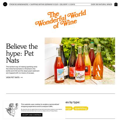 The Wonderful World of Wine * Natural Wine Onlineshop