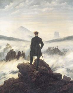 Wanderer Above the Sea of Fog, Caspar David Friedrich