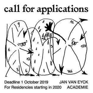 OPEN CALL for applications 2020!! #graphicdesign campaign for @janvaneyckacademie with illustrations by @martin_groch 💕🍄 for...