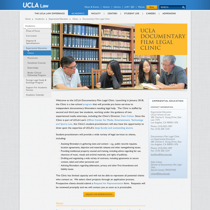Documentary Film Legal Clinic