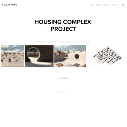 Felicia Arvid - housing complex project
