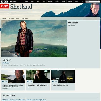 BBC One - Shetland, Series 1