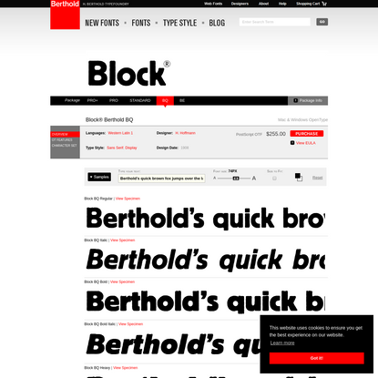 Block® Berthold BQ