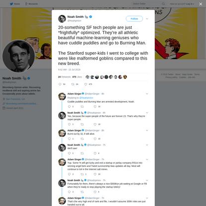 Noah Smith 🐇 on Twitter