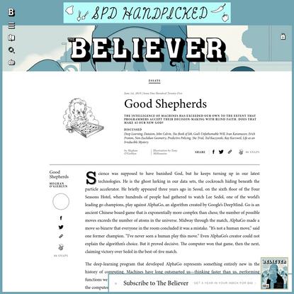 Good Shepherds - Believer Magazine