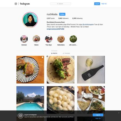 Ruchikala (Kusuma Rao) (@ruchikala) * Instagram photos and videos