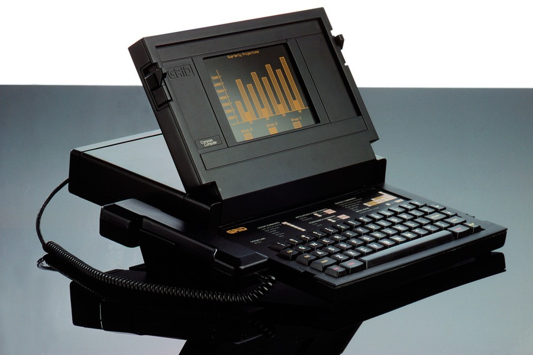 Compass Mk 1 Computer designed for GRiD Systems by IDEO, 1980