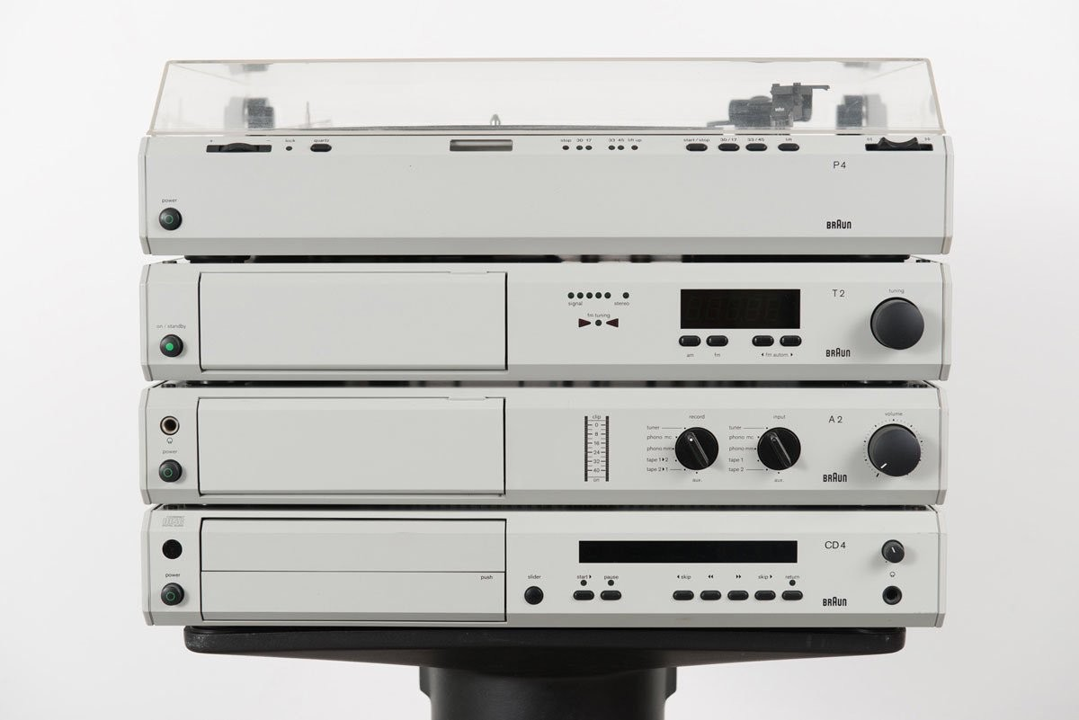 Braun Atelier 3 Hifi Stereo System, 1979
