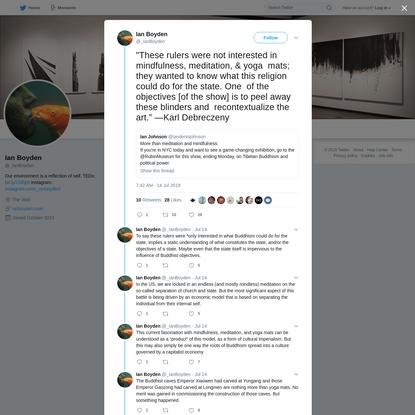 Ian Boyden on Twitter