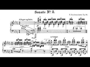 Rachmaninoff: Piano Sonata No.2, Op.36 (Lugansky, Kocsis)