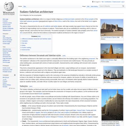 Sudano-Sahelian architecture