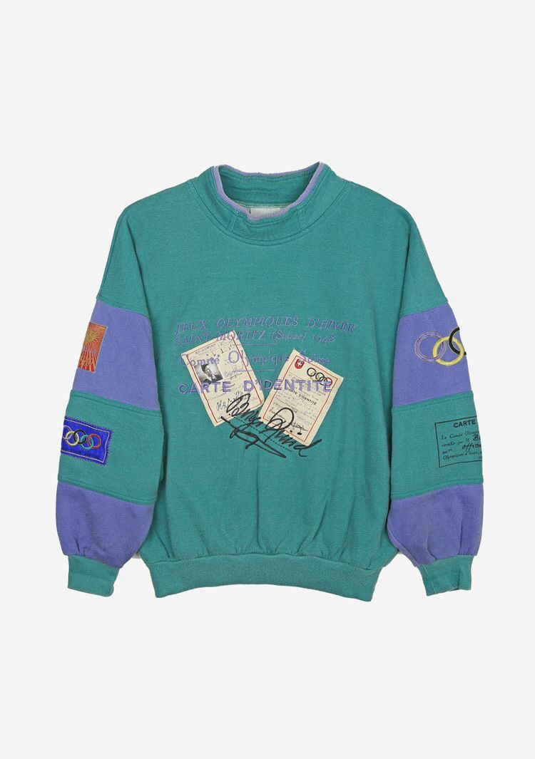 Vintage Adidas Saint-Moritz Olympics Sweatshirt