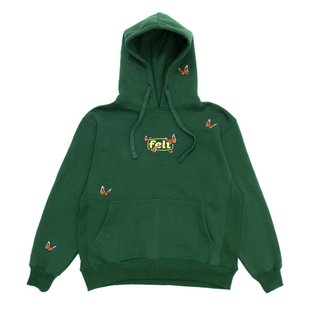 "New ""Butterfly Garden"" All over embroidery Hoodies and Sweatpants are now available online in Forest Green - 11.5oz - Pre Wa..."