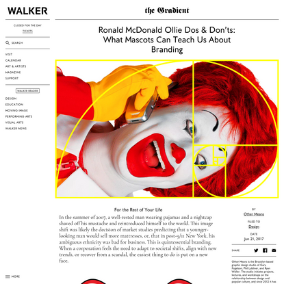 Ronald McDonald Ollie Dos & Don'ts: What Mascots Can Teach Us About Branding