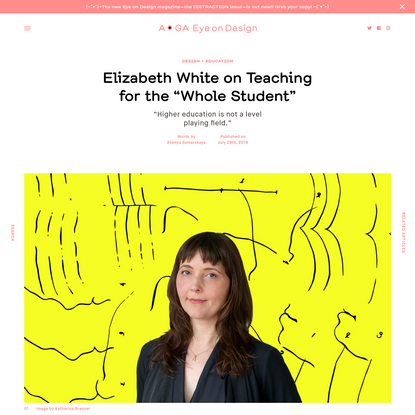 "Elizabeth White on Teaching for the ""Whole Student"""